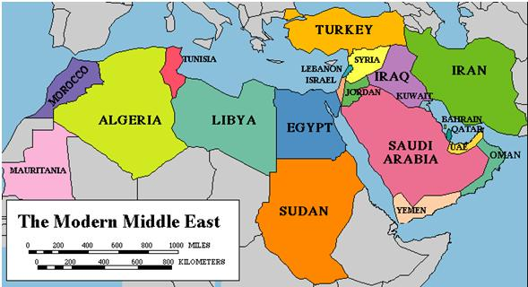 DANGEROUS CHANGES IN THE ARAB WORLD   American & Middle East Bible ...