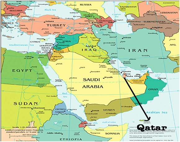 Take Notice Tiny Qatar is Powerful American Middle East Bible